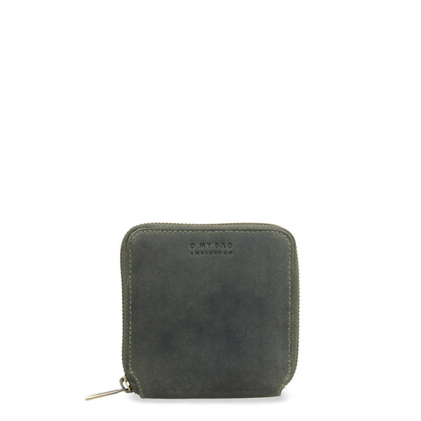 SONNY square Geldbörse, hunter leather