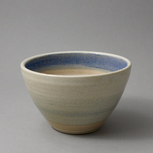 Small blue stripe bowl