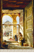 Load image into Gallery viewer, the gate of the great umayyad mosque damascus 1890 المسجد الأموي دمشق