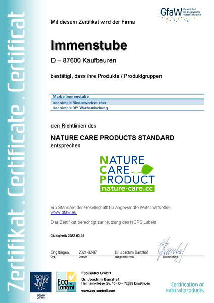 nature care product NCP bee simple