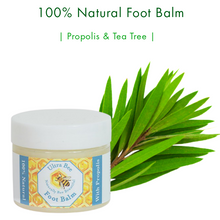 Load image into Gallery viewer, 100% Natural Foot Balm - Propolis & Tea Tree 50 ml