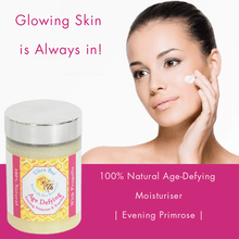 Load image into Gallery viewer, 100% Natural Age Defying Moisturiser Evening Primrose.
