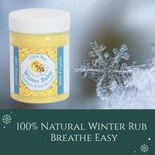Load image into Gallery viewer, 100% Natural Winter Rub - Breathe Easy – 100ml