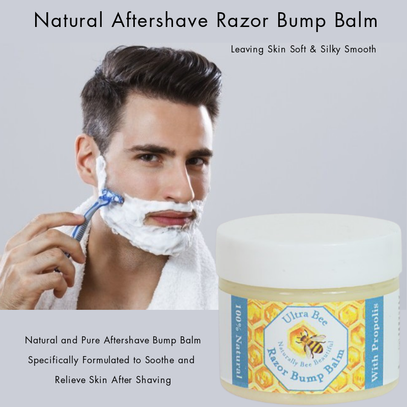 100% Natural Aftershave Razor Bump Balm 50ml