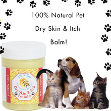 Load image into Gallery viewer, 100% Natural Pet Dry Skin & Itch Balm