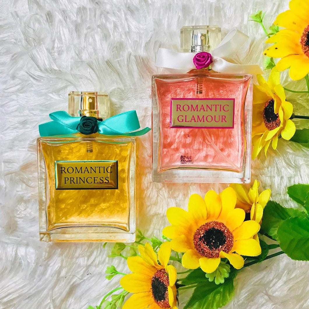 Romantic Princess & Glamour -(Combo-Pack of 2) 100ml each