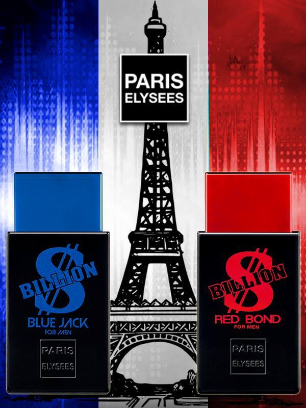 Billion Dollar- Blue Jack & Red Bond (Combo-Pack of 2) 100ml each