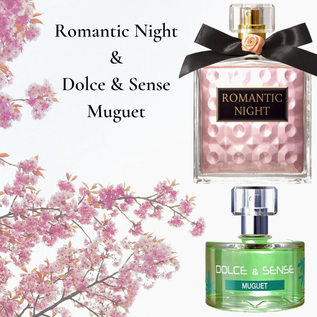 Romantic Night (100ml) & Dolce & Sense Muguet (60ml) (Combo- Pack of 2)