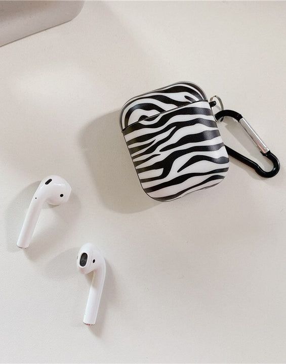 Zebra Insipired Airpod Case  for 1/2/3/Pro