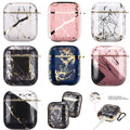 Electroplated Marble Glossy Case Afor Airpod 1/2/3/Pro