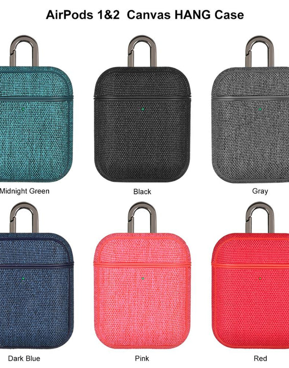 Full Protection Fabric Canvas Case For Airpods 1 & 2