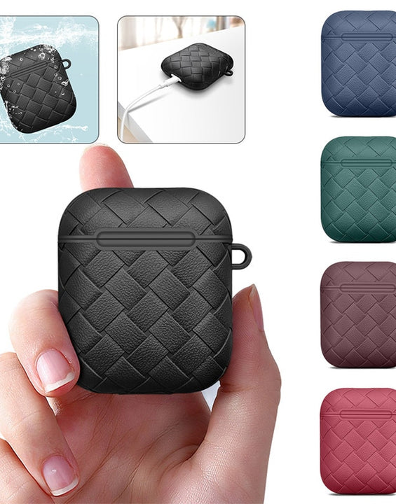 Woven TPU Case Keychain For Apple Air Pods 1/2/3/Pro