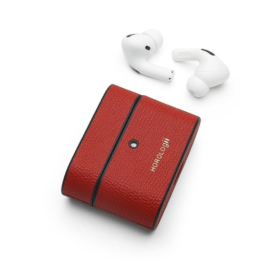 Personalized Name  Italian Leather Airpod Pro Case