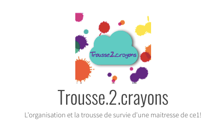 Trousse 2 crayons