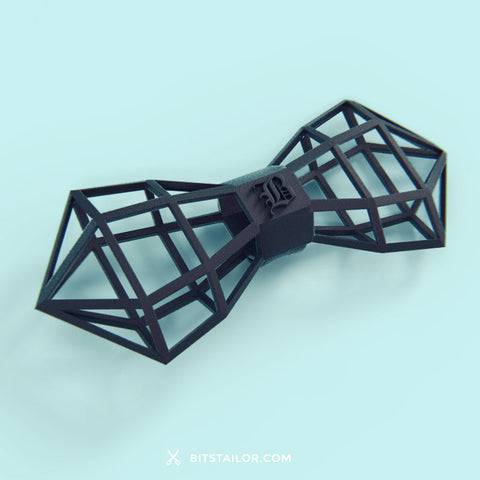 Black Wireframer bowtie - Ready to ship