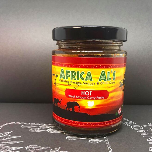 AL'S WEST AFRICAN COOKING SAUCES AND DIPS