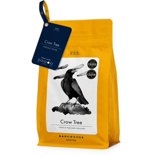 DARK WOODS COFFEE CROW TREE ESPRESSO 250G