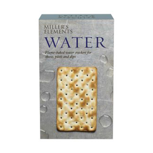 MILLERS CRACKERS WATER