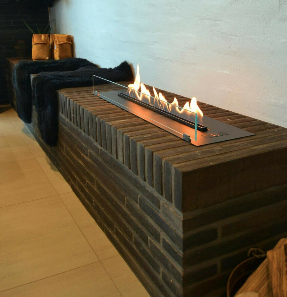 Bio ethanol fireplace automatic burner