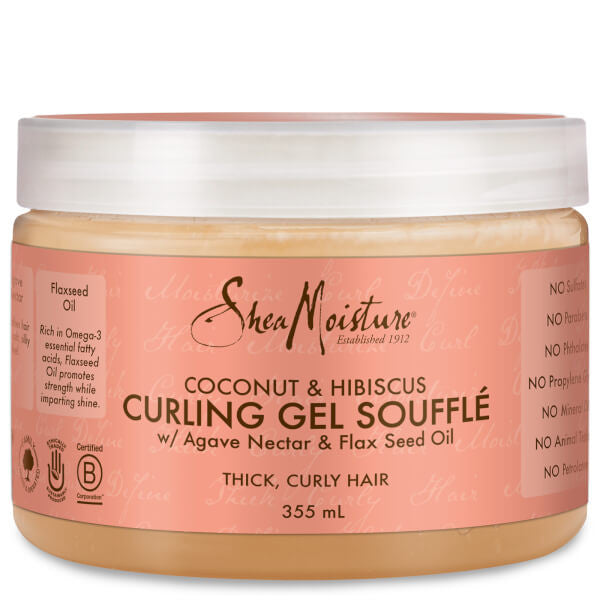 COCONUT & HIBISCUS CURLING GEL SOUFFLE 355ml