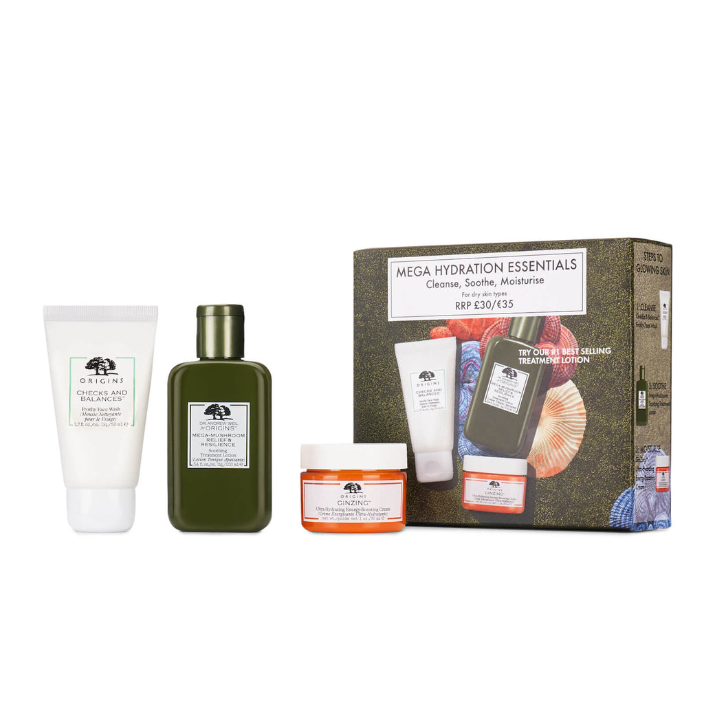 Cleanse, Shroom and Moisturise Mega Hydration Set