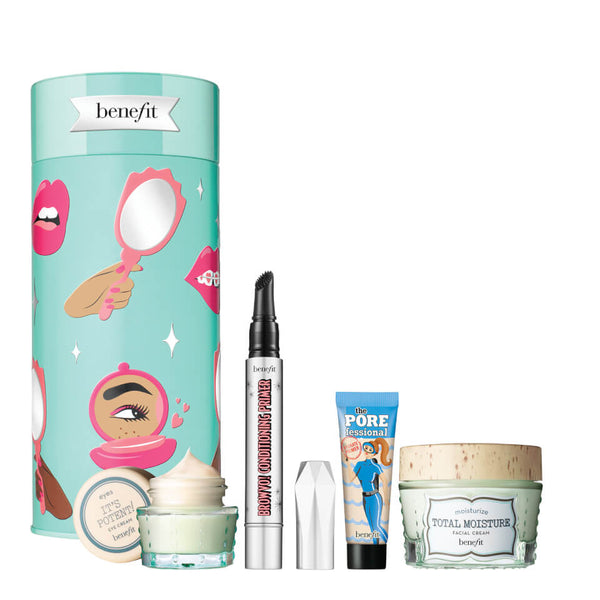 Benefit Your B.Right to Party Skincare and Brow Care Gift Set (Worth £77.92)