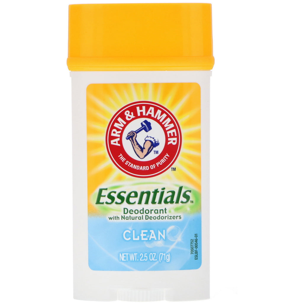 Essentials Natural Deodorant,  Clean  (28 g)