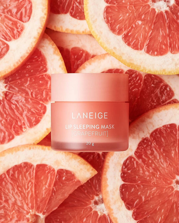Lip Sleeping Mask, Grapefruit, 20 g