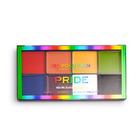 Revolution X Pride - Express Myself Face Paint Palette