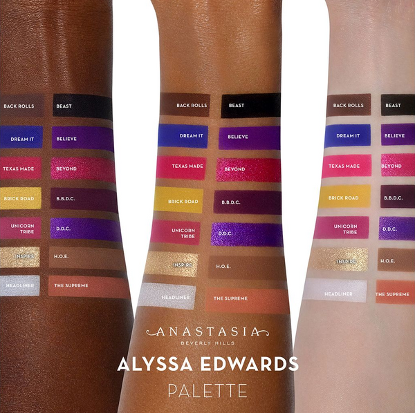 Alyssa Edwards Eye Shadow Palette