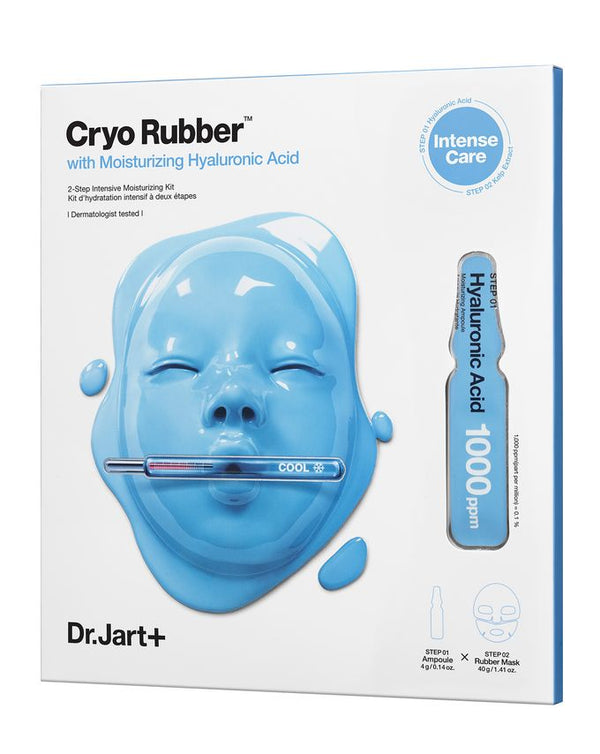 Cryo Rubber with Moisturising Hyaluronic Acid ( 1 mask )
