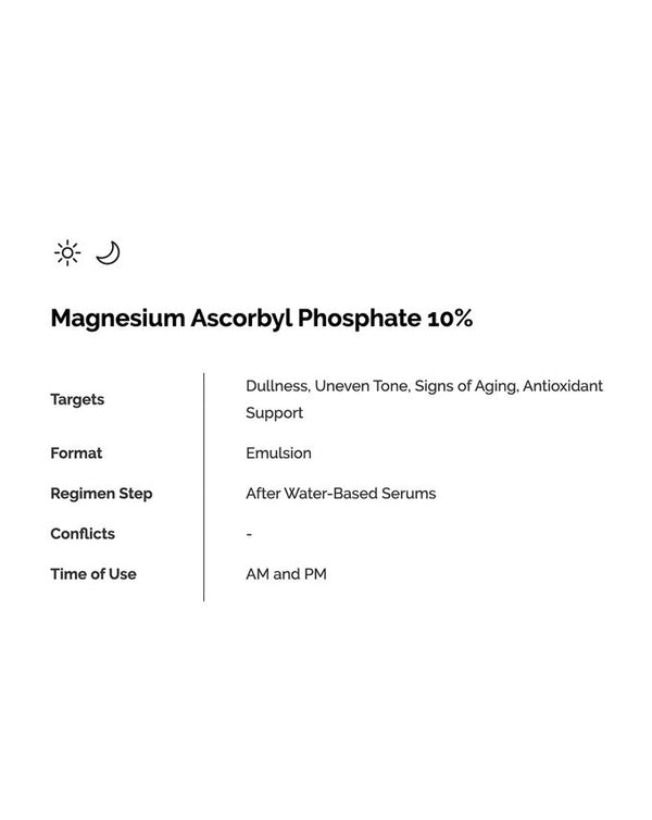 Magnesium Ascorbyl Phosphate Solution 10% 30ml