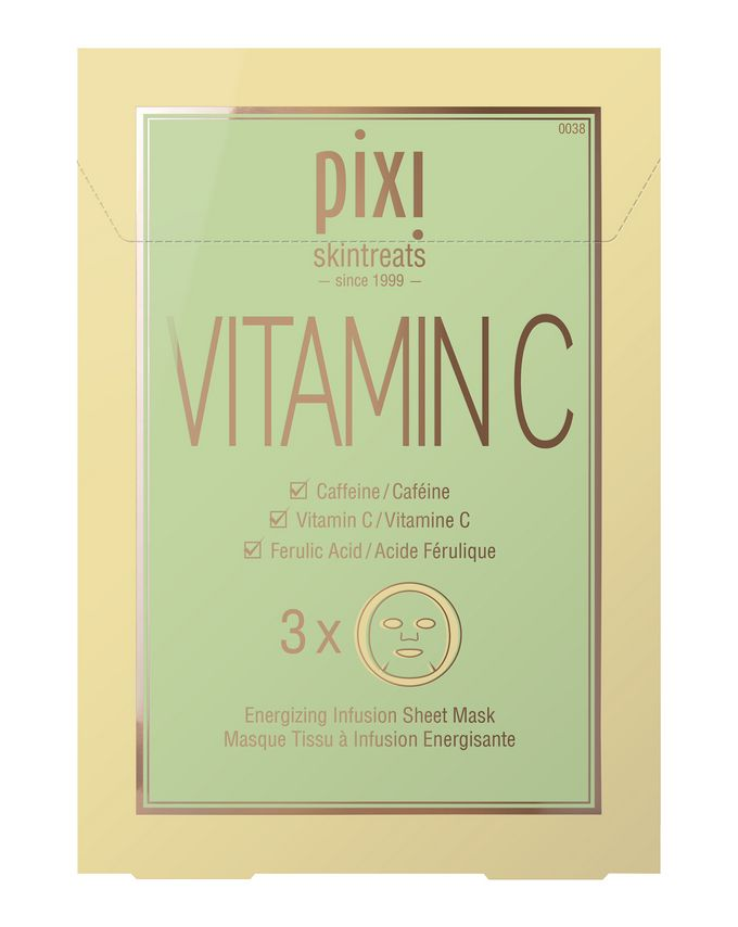 Vitamin-C Energizing Infusion Sheet Mask( 3 masks )