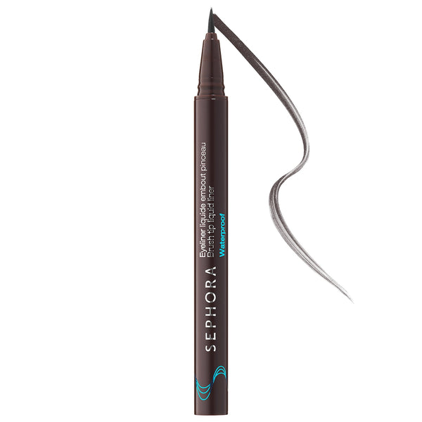 Hot Line Brush Tip Liquid Eyeliner - Waterpoof