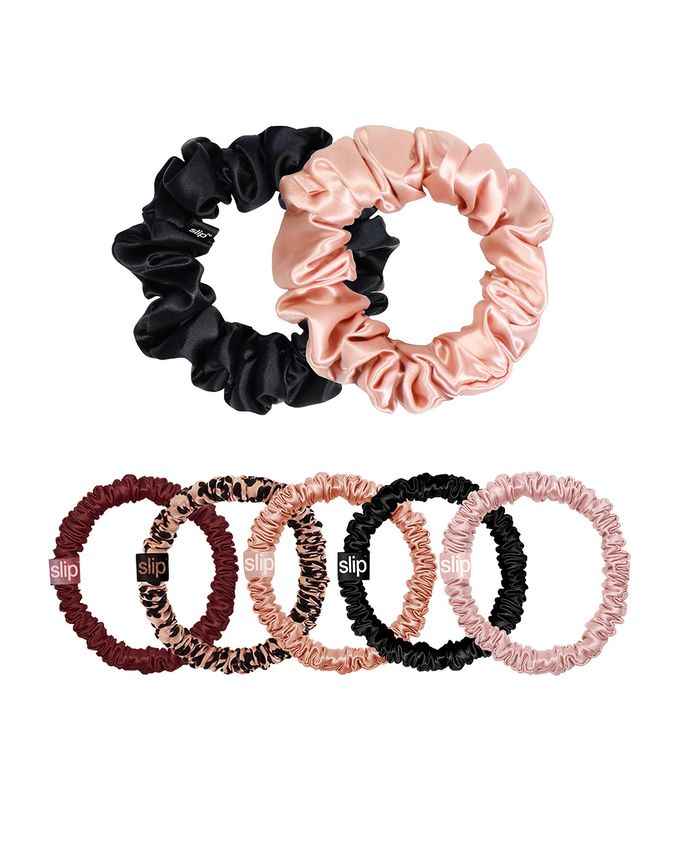 Limited Edition Mega Scrunchie Set in Plum Rose