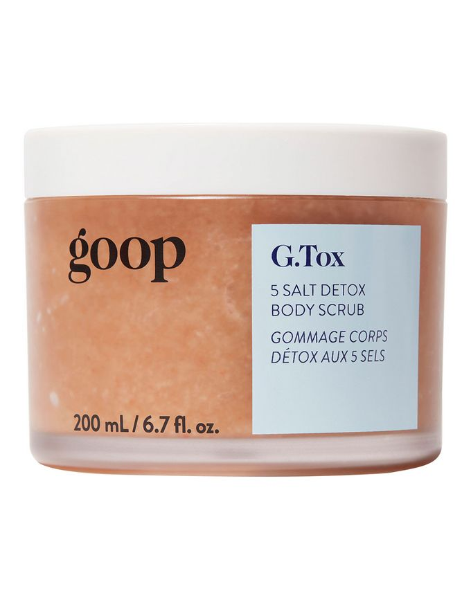 G.Tox 5 Salt Detox Body Scrub 200ml