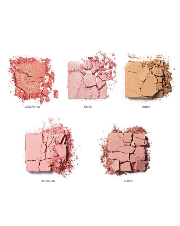 Cheekleaders Pink Squad - Blush, Bronze & Highlight Palette