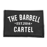Silicone Patch ( black ) - The Barbell Cartel , Weightlifting, wrist wraps, booty shorts, mesh leggings, weight belt, Board shorts