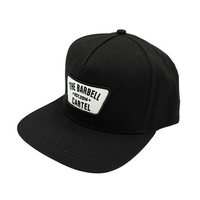 CLASSIC LOGO SNAP BACK ( Black ) - The Barbell Cartel , Weightlifting, wrist wraps, booty shorts, mesh leggings, weight belt, Board shorts