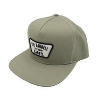 CLASSIC LOGO SNAP BACK ( Cement ) - The Barbell Cartel , Weightlifting, wrist wraps, booty shorts, mesh leggings, weight belt, Board shorts