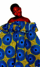Load image into Gallery viewer, Fever Abigail flared African print dress - SOSOME