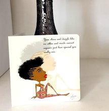 Load image into Gallery viewer, Birthday Black girl cards - SOSOME