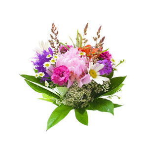 Happy Bouquet of Seasonal Flowers