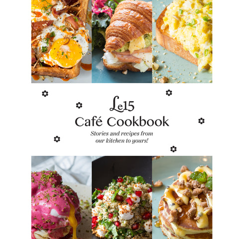 Le15 Café Cookbook (E-book)