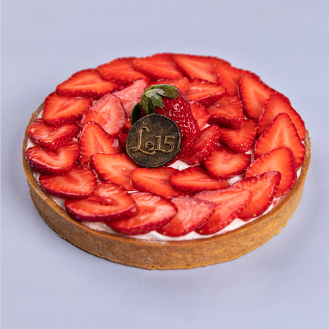 Strawberry Tart (7 inch)