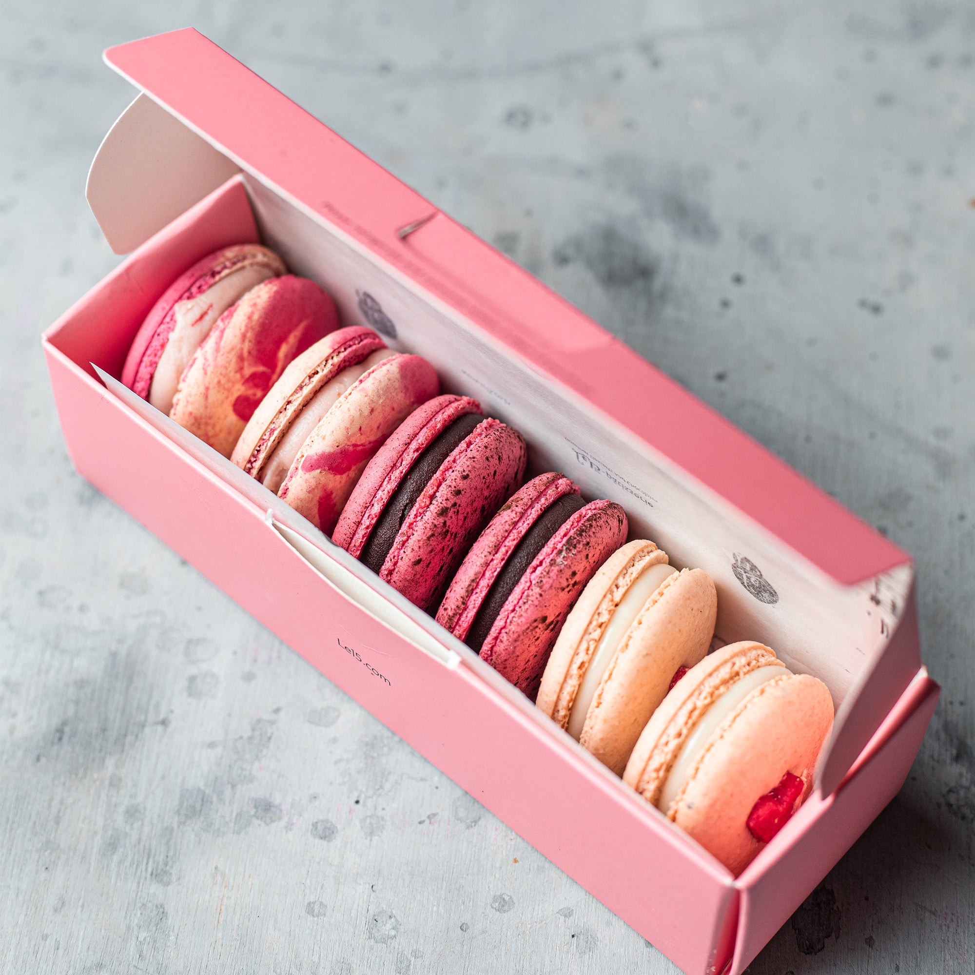 Love at First Bite Macaron Box of 6