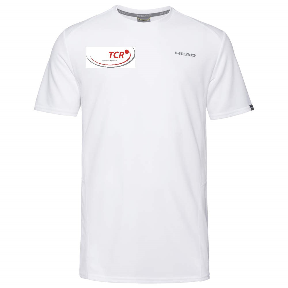 Head TCR T-Shirt (weiß)