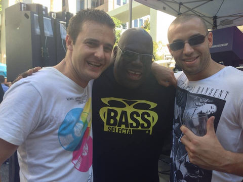 The DJ Revolution meets with Carl Cox