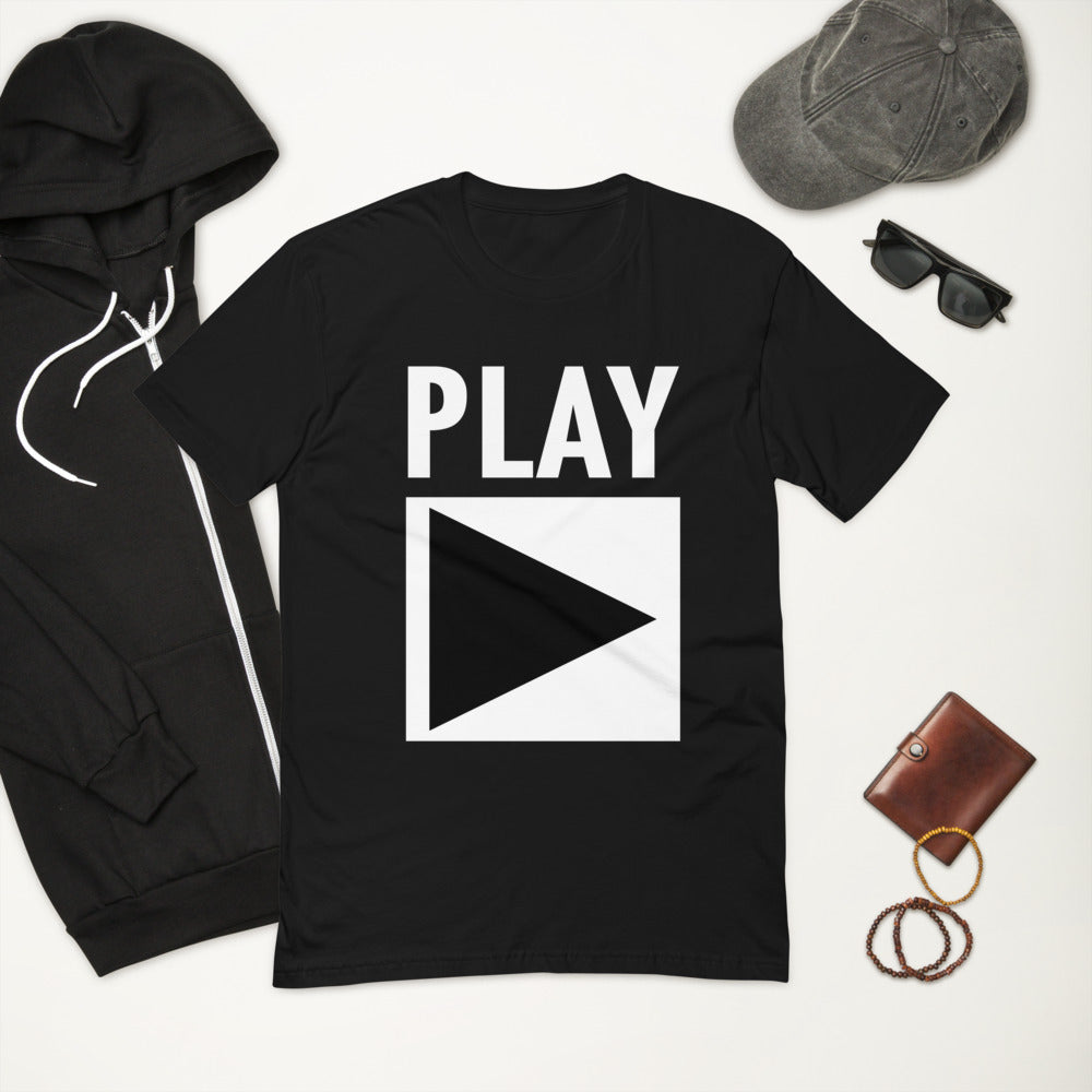 Men's Fitted T-shirt | ''PLAY''