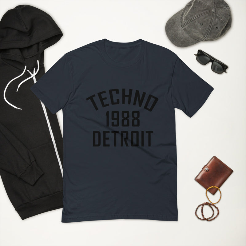 Men's Fitted Tee | ''Detroit Techno 1988''